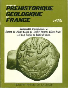 Bulletin annuel de la JPGF n° 4/5 - Années 1974/1975