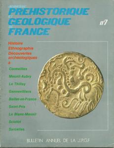 Bulletin annuel de la JPGF n° 7 - Année 1977