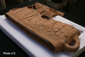 A Fosses : découverte d'un abysme à chandelles datant du XIIIè siècle