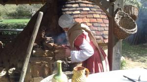 Cuisson de céramiques médiévales
