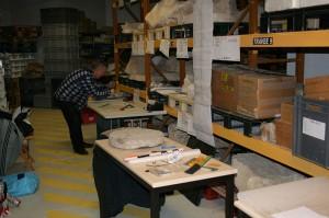 JPGF - Etude des meules en grès de Fosses - Le vicus de VENDEUIL-CAPLY dans l'Oise