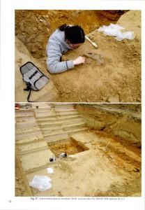 Fouilles archéologiques Paléolithique Ile de France