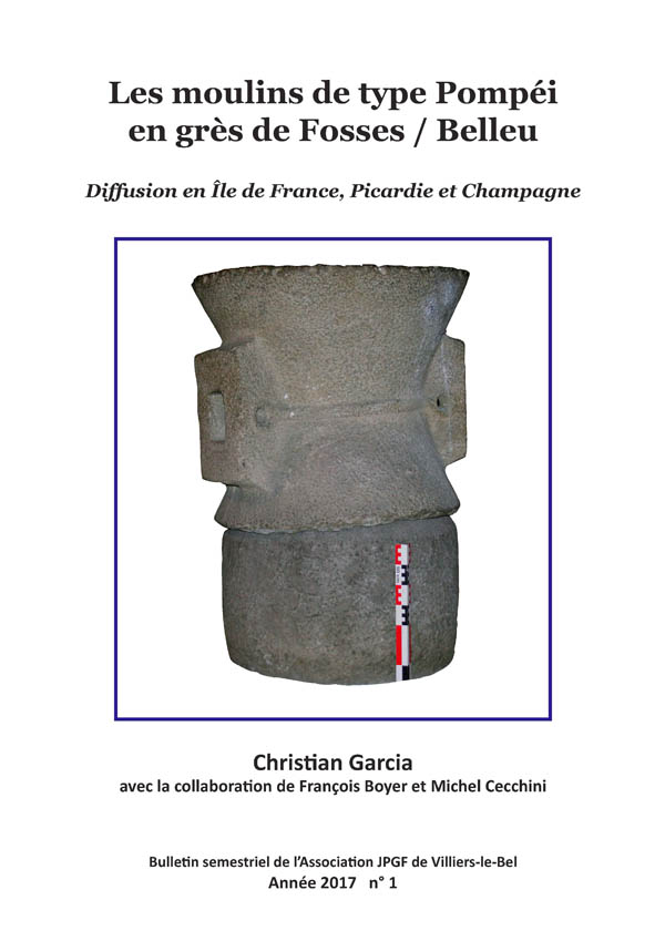 Les moulins de type Pompéi en grès de Fosses-Belleu