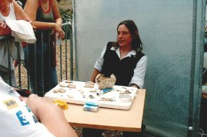 Muriel Hue JPGF fouilles archéologiques Ile de France