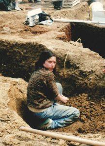 Muriel Hue JPGF fouilles archéologiques Val d'Oise